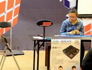 中国玩魔方女生在世界魔方界是怎样的存在?